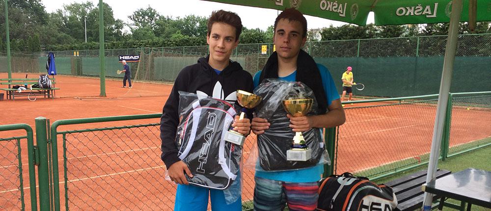 Tin Dizdarević i Marko Boltužić