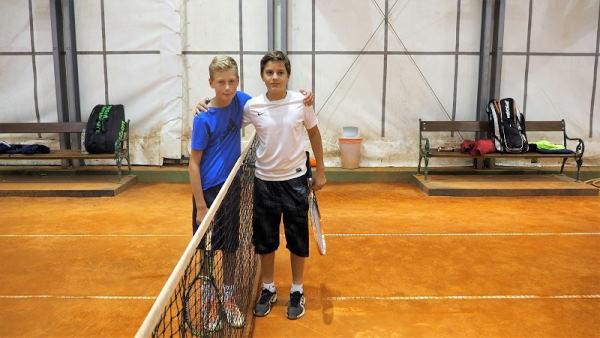 Finalisti Daniel Jančić i Viktor Boban